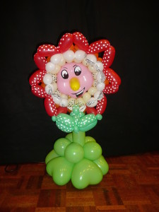tuincentrum met ballondecoratie